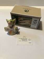 """Perfect Fit� World Of Pocket Dragons Hummel Goebel Collectibles With Box"