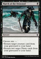 MTG 4x MARCH OF THE DROWNED - MARCIA DEGLI ANNEGATI - XLN - MAGIC
