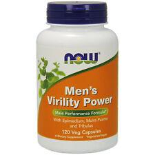 Mens Libido Boosting Supplement 120 Vcaps | Muira Puama, Tribulus, Maca Root