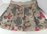 Wn's Nike Golf Dri Fit Golf Skort Skirt Sz 16 Tropical Floral Hot Pink/Ylw/Beige