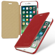 TETDED Premium Leather Case for Apple iPhone 7 Plus -- Dijon II (LC: Red)