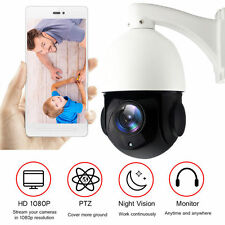 Full HD 1080P 20X Zoom POE PTZ IP Camera High Speed Sony CMOS 32GB SD
