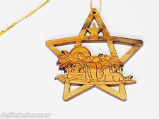 Christmas Tree Star Tree Ornament Holy Land Made #3