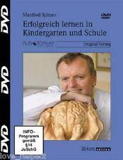 DVD, ERFOLGREICH LERNEN in Kindergarten und Schule, Manfred Spitzer, NEU/OVP