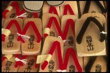 065180 geta sandalias de madera de Takayama, Japón A4 Foto Impresión