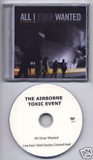 AIRBORNE TOXIC EVENT All I Ever Wanted UK promo test DVD sampler 1h 28mins
