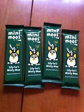 Mini Moos Lily-Lu's Minty Moo Dairy Free Gluten Free Vegan Chocolate 4x Bars