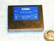 NEW COSEL ZUS104812 ZUS 10 ZUS10 4812 10 WATT 48-12 VOLT 10W DC-DC CONVERTER USA