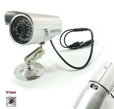 KIT VIDEOSORVEGLIANZA CAMERA TELECAMERA 36 LED MICRO SD OMAGGIO 8 GB INFRAROSSI