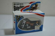 Vintage Zylmex - Ridge Riders Yamaha Seco 550 bike - 1:24 -  Diecast Metal MIB