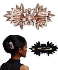 Mimco New❤️❤️❤️ Bacio Rose Gold Clip Racer  Fascinator Headband Holder Clip Pin