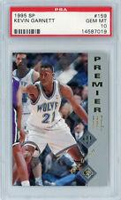 Kevin Garnett Timberwolves 1995 Upper Deck SP Premier #159 Rookie Card RC PSA 10
