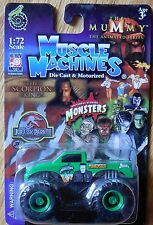2010 Hot Wheels Monster Jam Truck AMSOIL Shock Therapy 1 64