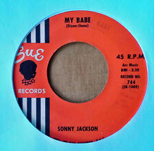 SONNY JACKSON - MY BABE b/w ST. LOUIS BLUES - SUE 45 - 1961