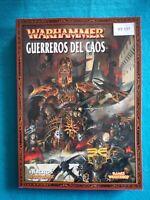 Warhammer Fantasy - Libro de Ejercito Guerreros del Caos - WF137