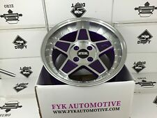 "FYK ED3 16"" 8-9j Et25 Alloy Wheels 4x108 EURO DRIFT BBS RS XXR SSR FORD 924"