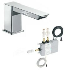New Moen Chrome Roman Tub Faucet & S4994 ioDIGITAL Thermostatic Valve $800+ MSRP