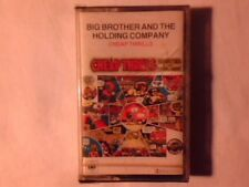 BIG BROTHER AND THE HOLDING COMPANY Cheap thrills mc cassette k7 JANIS JOPLIN