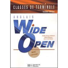 Wide open tles - anglais - livre de l'eleve