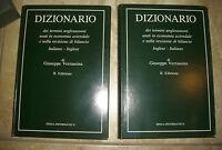 GIUSEPPE VERRASCINA - DIZIONARIO DEI TERMINI ANGLOSASSONI USATI IN ECONOMIA (VC)