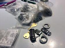 7 National Cabinet Lock 4 pin tumbler door / drawer use with 2 keys -keyed alike