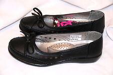 BLACK SLIP ON CLASSIQUE COMFORT SIZE 4/37 LADIES FLAT CASUAL SHOES PUMPS