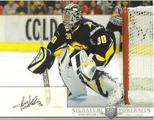 2006-07 BAP PORTRAITS -  RYAN MILLER  -  AUTOGRAPHED 8 X 10 PHOTO