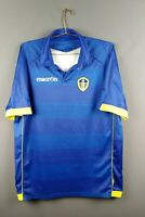 Leeds United jersey XL 2010 2011 away shirt soccer football Macron ig93