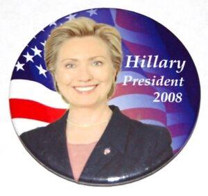 2008 HILLARY CLINTON MAGNET campaign button pin political presidential election