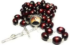 St JOHN BOSCO cherry 3rd Relic rosary editors publishers, children young ppl