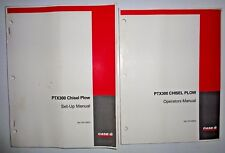 Case Ih Ptx300 Chisel Plow Operators/Owners and Set-Up/Assembly Manuals