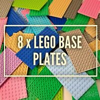 Lego Base Plates 8 x 16 - Lego Friends City Plates Boards Accessories Job Lot