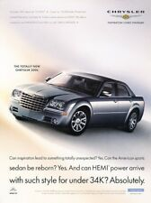 2005 Chrysler 300 Hemi 300C Original Advertisement Print Art Car Ad J935