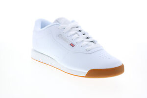 Reebok Princess BS8458 Womens White Synthetic Lifestyle Sneakers Shoes