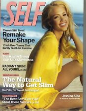 JESSICA ALBA Self Magazine 7/05 AS NICE AS SHE LOOKS
