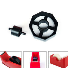 Replacement Spare Sellotape Tape Dispenser Spin Black Durable Wheel AM8