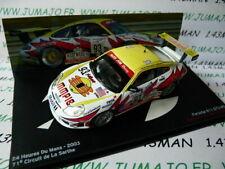24H15M 1/43 IXO Altaya Passion vitesse GT:PORSCHE 911 GT3-RS 24 Heures Mans 2003