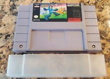 Mega Man Soccer (Super Nintendo, 1994) Rare SNES Authentic