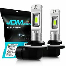 JDM ASTAR 2x 881 889 Super Bright 8000K Ice Blue LED Fog Lights Bulbs Driving US