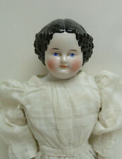 "L👀K Antique 21"" China Head Doll circa 1860s Original Body L👀K"