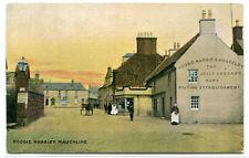 Poosie Nansie Inn Mauchline East Ayrshire Scotland UK 1910c postcard