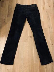Levis 511 Slim Fit Jeans Herren Schwarz - W31 L32