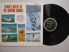KFWB's Battle Of Surfing Bands SURF LP (DEL-FI 1235) Battle Of Surfing Bands VG+