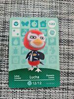 🍃🍃 Animal Crossing Amiibo Card Series 2 - 122 Lucha - New Horizons 🍃🍃 NEW