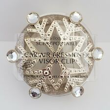 Gem Snowflake Scentportable Bath Body Works Gold Champagne Retired No Disc