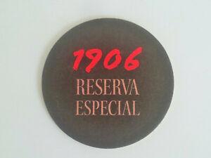 1 pc. of 1906 Reserva Especial beer mat coaster (#35)