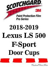 3M Scotchgard Paint Protection Film Pro Series 2018 2019 Lexus LS 500 F-Sport