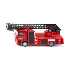 Siku 2114 MAN FIRE BRIGADE WITH AERIAL LADDER RED SCALE 1:50 NEW !°