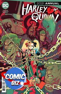 HARLEY QUINN 2021 ANNUAL #1 (2021) 1ST PRINTING MAIN COVER DC COMICS