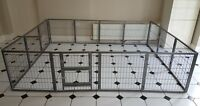 MargoTheDog Puppy Exercise Pen Modular Dog Cage Whelping Pen System